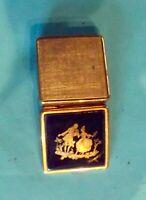 Ancienne Boîte à pilules pilulier poudrier vintage Manufacture Limoges Fragonard