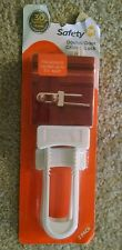 """New Safety 1st Double Door Cabinet Lock 2 Pack Fits Cabinets Up To 5.5"""" Apart"""