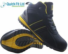 69e505836e12d MENS LEATHER ULTRA LIGHTWEIGHT STEEL TOE CAP SAFETY WORK BOOTS TRAINERS  SHOES