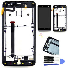 LCD Display Screen Touch Digitizer Assembly + Frame + Tools For Asus Zenfone 5