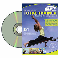 Bayou Fitness Total Trainer Pilates Yoga  DVD Featuring Barry Method Training