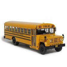 Bus GMC 6000 School  1989 1:43 New & Box diecast model miniature autocar car