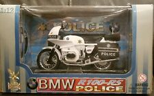 New 1/12 Road Legends BMW R100-RS Police Die Cast Metal Model 95013