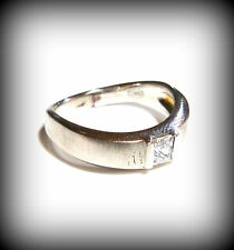 Size 18 Fossil Ladies Ring Silver 57 (18,1 mm ø) JF14631