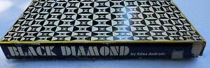 Vtg 1969 Springbok Puzzle Black Diamond Edna Andrade Puzzles PZL2028 450+ Pieces