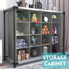 Interlocking 16 Compartment Shoe Organiser Storage Cube Rack Display Stand  Y