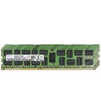 SAMSUNG 64GB (4X16GB) 2RX4 PC3L-12800R DDR3-1600 1.35V Registered Server Memory