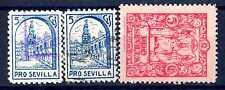 SPAIN - SPAGNA - 1935-1940 - Guerra civile spagnola. Pro Siviglia. E1082