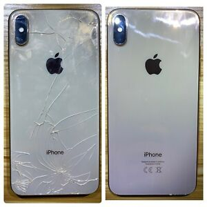 Iphone 8, 8 plus, X, XS, XR, XS Max Back Glass Cracked Replacement Repair.