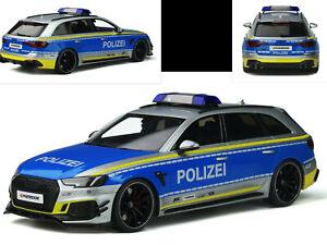 Abt Audi RS4 Avant  POLIZEI  Limitiert  GT Spirit GT817  1:18  NEU