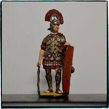 Tin Soldier 54 mm, Centurion of Roman Legion, Hand Painted Miniature