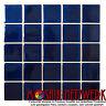 Dunkelblaue Mosaikfliese Keramik Fliesenspiegel Küche glänzend 14-0405_f 10Bögen