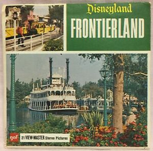 vintage view master #j early 1960 A177- Disneyland Adventureland from late 1950