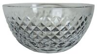 """Vintage Waterford Cross Cut Crystal Bowl Serving Candy Compote Nut Ireland 8"""""""