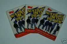 New Kids On The Block Trading Cards  1989 Topps