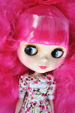 """Takara 12"""" Neo Blythe Curly Hair Nude Doll from Factory TBO170"""