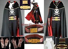 Albator Galaxy Express 999 Cosplay Costume Custom Any Size