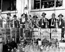 Photo. 1951. Smithfield, North Carolina. Confiscated Moonshine