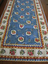 Gorgeous Table Runner Pierre Deux BlueRed Avignonet Bordure French Country Toile