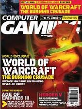 Magazine Computer Gaming World December 2005 World of Warcraft Age of Empires 3