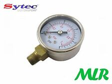 FUEL PRESSURE GAUGE FOR FILTER KING LOW PRESSURE REGULATOR 0-15PSI CATERHAM 7 FK