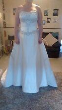 wedding dress. Vgc .Size 14