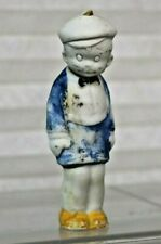 """Smitty 3 1/4 """" Bisque doll Bobble Head"""