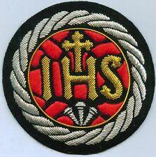 Jesus Christ Jesuits Emblem Seal Ihs Catholic Church Cross Vestment Stole Patch