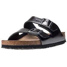 Birkenstock Buckle 100% Leather Sandals for Women