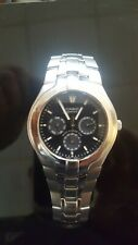 Casio Edifice Chronograph Mens Watch Wr100m Mint ☆RARE IN THIS CONDITION☆