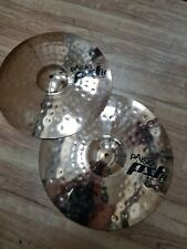 "Paiste 17"" Rock Crash & Paiste 18"" Rock Crash Cymbals"