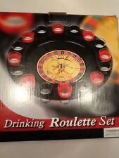 16 Glass Lucky Shot Drinking Game - Roulette