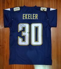 Austin Ekeler Autographed Signed Jersey San Diego Chargers Beckett