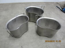 Genuine USGI stainless Military Issue Surplus Canteen Cup