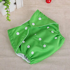 1 PCS Adjustable Reusable Lot Baby Kids Boy Girls Washable Cloth Diaper Nappies