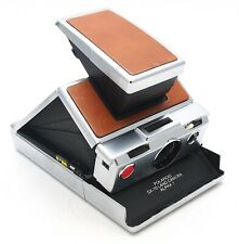 Vintage Polaroid SX-70 Land Camera Alpha 1 Tan Leather - UK Dealer