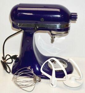 KITCHENAID TILT MIXER ~ Cobalt Blue ~ MODEL #KSM90BU w/Whi~Dough Hook~Beater