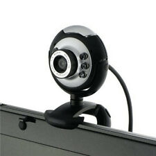 USB 12MP 6LED 180 Degree Camera Web Cam with Mic for Desktop/PC/Laptop Skype Q