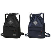 Women Girl Casual Backpack School Shoulder Waterproof Travel Drawstring Rucksack