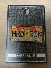 "2019 Japan Hard Rock Cafe Kyoto ""License Plate"" Pin"