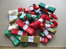 Christmas Ribbon Bargain Bag 25 x 3 metre bundles