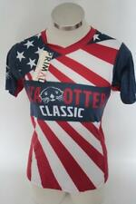 New Primal Women's Large Red Blue Mtb Cycling Bike Jersey Sea Otter Classic Flag