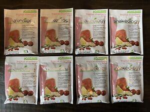 *Exp 8/2021!* (8) Single Packets Shakeology Vegan Strawberry Protein Powder 🍓
