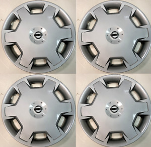 """4 New Hubcap 15"""" FITS 2007-2013 Nissan Versa & Cube Wheel Cover 53072"""