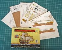 1950s Vintage Original Micromodels Set No.1 Mayflower - The Final Micromodel 4/-