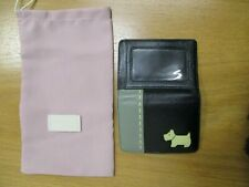Radley Small Wallet and ID or Bus Pass Holder in Black Leather with Dustbag   A2