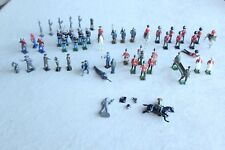 Vintage Lead Toy Soldiers - Britains, Lincoln Logs, Others(?) Lot of 50+