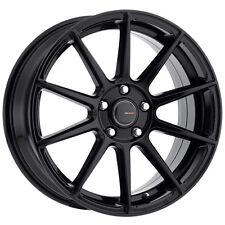 4-NEW Big Bang Sport BSP-31 16x7 5x100/5x114.3 +40mm Black Wheels Rims