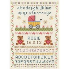 Anchor - Counted Cross Stitch Kit - Birth Record - Classic Sampler - ACS31