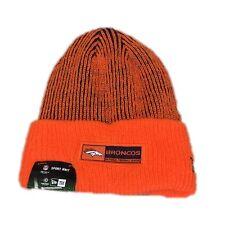 d92601093bef85 NWT NEW Denver Broncos New Era Knit Beanie Hat Cap